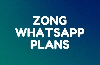 Zong WhatsApp Packages: Daily, Weekly and Monthly