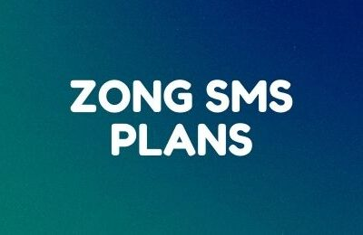 Zong SMS Packages: Daily, Weekly and Monthly